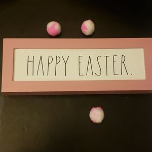 Rae Dunn Happy Easter Sign